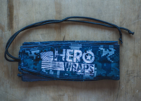 "HeroWraps by Madfitter - NWU/Type I ""Blue Berries"" (Navy)"