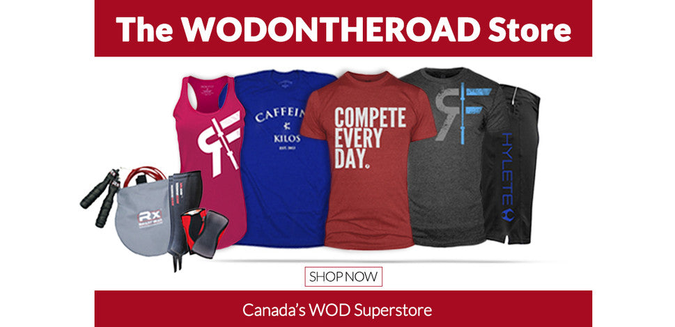 04aaa5292 Canada's Shop of Great Brands for those who love to CrossFit! –  WODONTHEROAD Store
