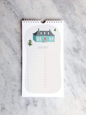 Calendar Favorite Story Village Celebration Calendar