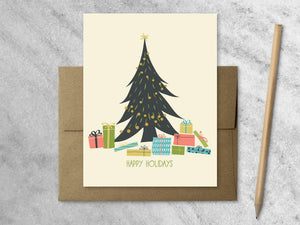 Cards Favorite Story Gifts Under the Tree Christmas Cards, Boxed Set of 8