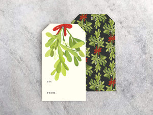 Cards Favorite Story Mistletoe Gift Tags, Set of 10