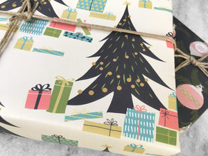 Gift Wrap Favorite Story Gifts Under the Tree Gift Wrap, Holiday Wrapping Paper