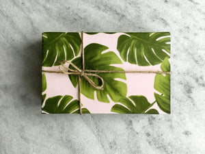Gift Wrap Favorite Story Monstera Leaves Gift Wrap, Fine Wrapping Paper