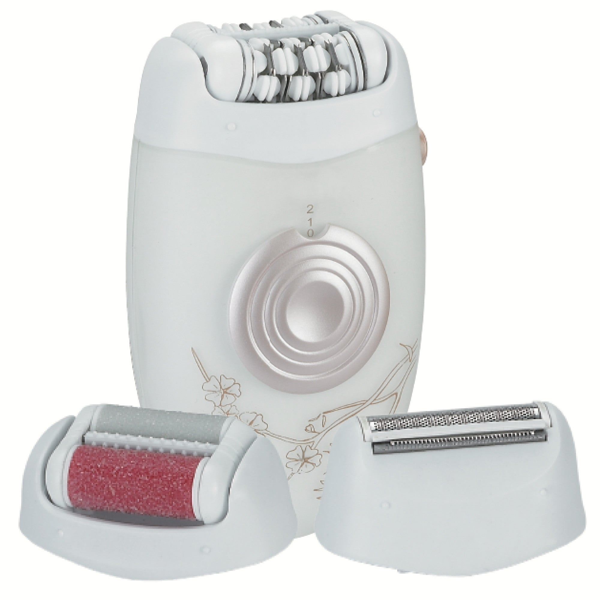 Trio 3-in-1 Hair and Callus Remover