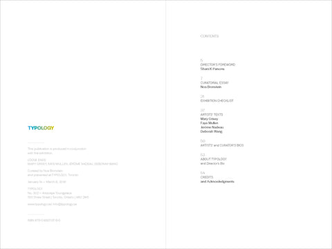 Loose Ends Exhibition Catalogue