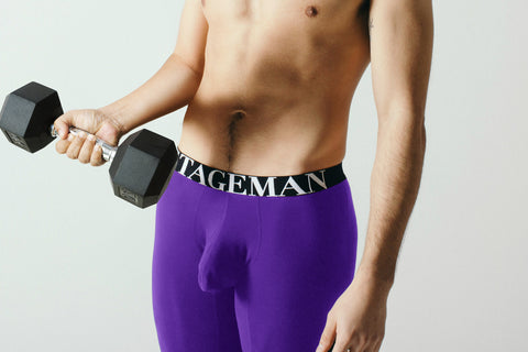 Stageman Underwear Purple Performance