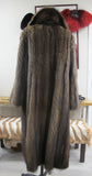 Fisher Sable Fur Coat Coats M/L - Purple Shoshana Furs