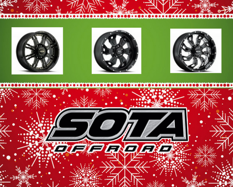 Save on SOTA Offroad for the Holidays!