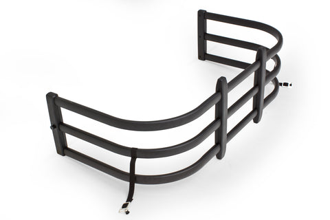 AMP RESEARCH Part#  74811-01A BEDXTENDER HD MAX Small Trucks Black Nissan Frontier - Standard Bed 1998-2017