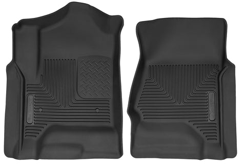 Husky Liners X-Act Contour Front Floor Liners For 2015 Chevrolet  Silverado 3500 HD   Crew Cab Pickup  53111