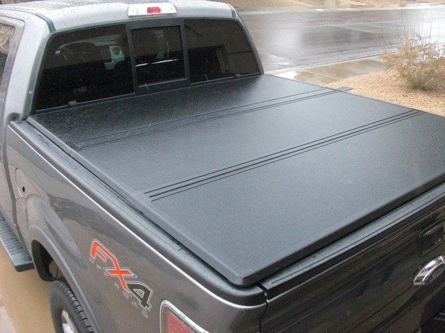 Ford F150 Hard Bed Cover >> Angry Elephant Hard Tri Fold Tonneau Cover For 2004 2016 Ford F150 6 Ft 6 Inch Bed