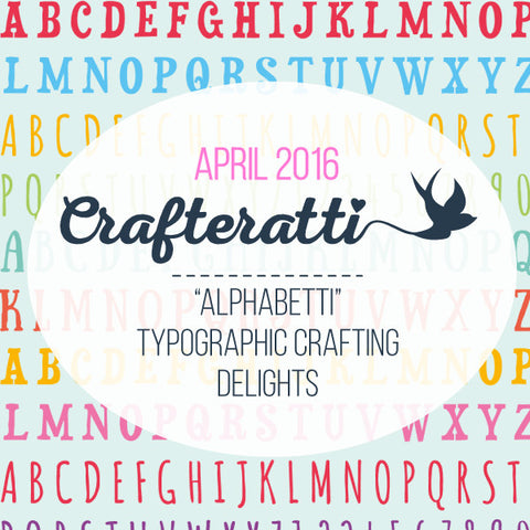 Crafteratti April 2016