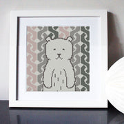 Bear Hug Cross Stitch Kit