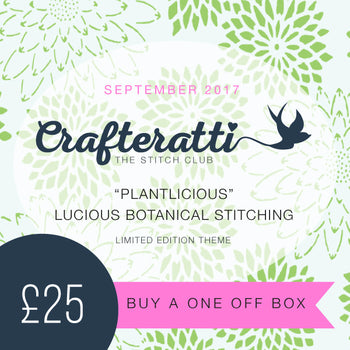 "Crafteratti September Box ""Plantlicious"""