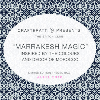 Crafteratti April 2018 Box - Marrakesh Magic