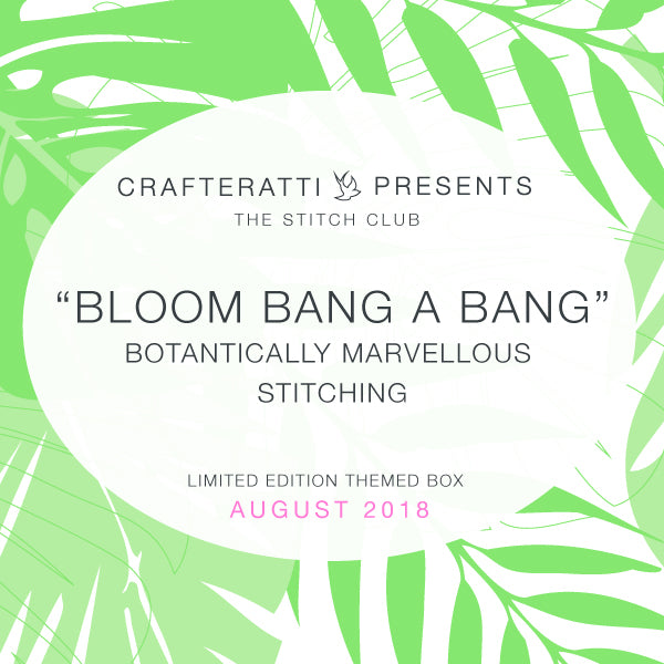 Crafteratti August 2018 Box - Bloom Bang A Bang