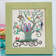 Swirly Bird Tree - Cross Stitcher PDF