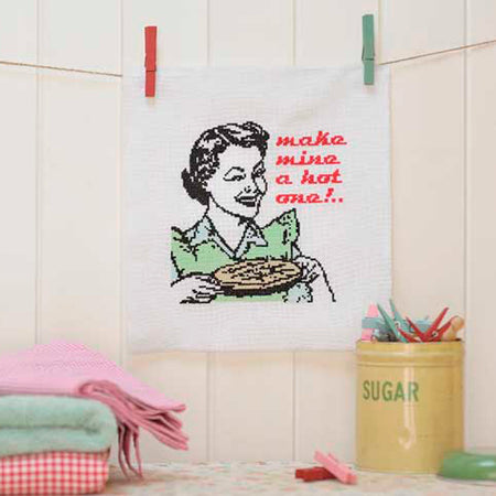 50's Pie Lady - Cross Stitcher PDF