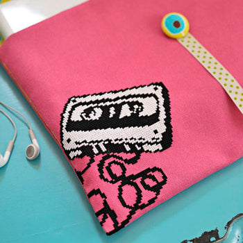 Retro Icon Mix Tape - Cross Stitcher PDF
