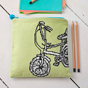 Retro Icon Chopper Bike - Cross Stitcher PDF