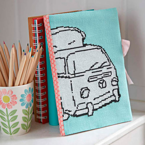 Retro Icon VW Campervan- Cross Stitcher PDF