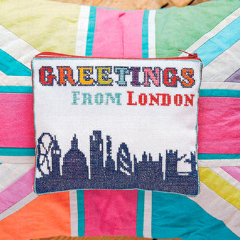 2 Sided London Postcard - Cross Stitcher PDF