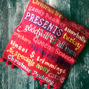 Christmas Words Cross Stitch Kit