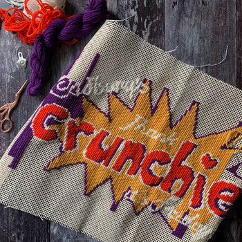 Crunchie Friday Cross Stitch Tapestry Kit