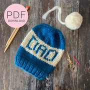 DAD Beanie Hat DIY PDF Pattern