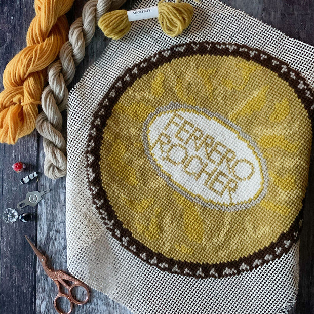 Ferrero Rocher Cross Stitch Kit