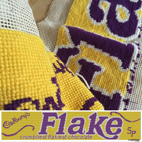 Flake Cross Stitch Tapestry Kit