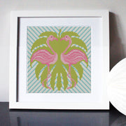 Fabulous Flamingoes Cross Stitch Kit