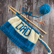 DAD Beanie Hat DIY Knitting Kit
