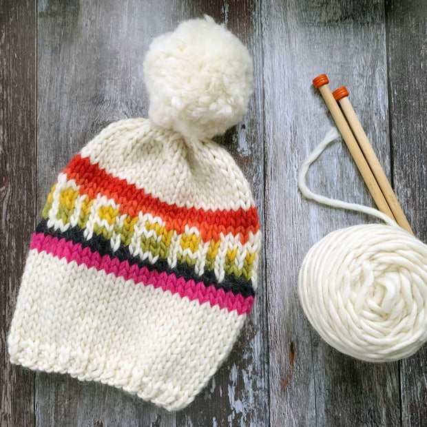 DREAM Rainbow Hat DIY Knitting Kit