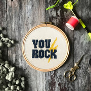 You Rock Craftivism Cross Stitch -  PDF