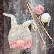 Bopsy Bunny Beanie Merino DIY Knitting Kit