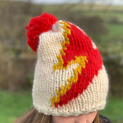 BOWIE Beanie Bolt Hat DIY Knitting Kit