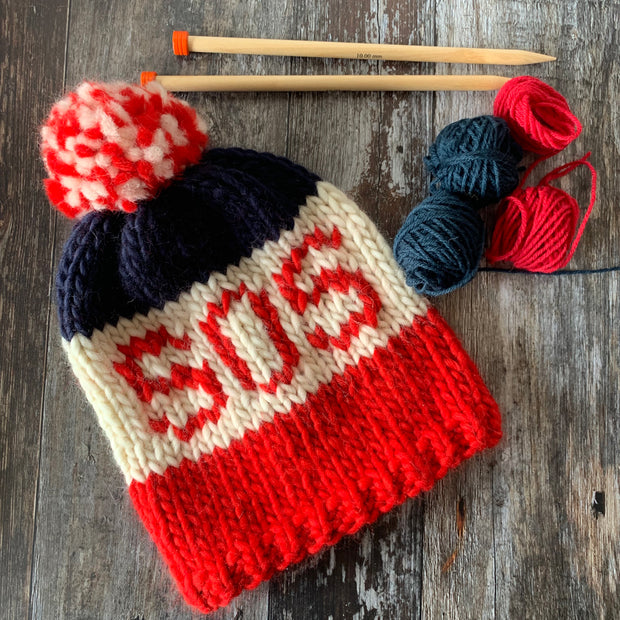 SOS Hat DIY Knitting Kit