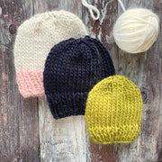 The Classic Beanie Merino DIY Knitting Kit