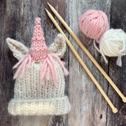 Unicorn Beanie Merino DIY Knitting Kit