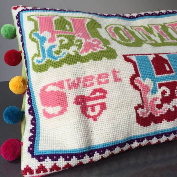 home sweet home cross stitch kit by jacqui pearce