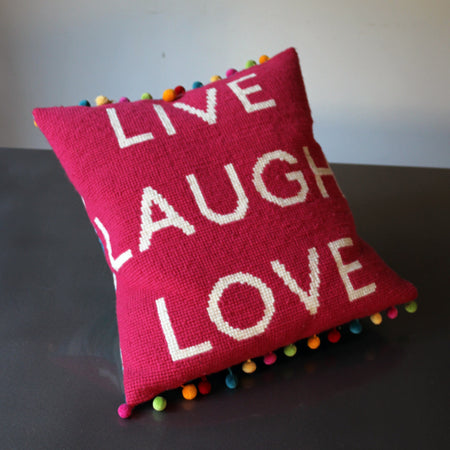 Live Laugh Love Tapestry Cross Stitch Kit