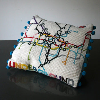 London Tube Underground Tapestry Cross Stitch Kit