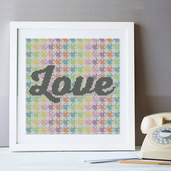 Hounds of Love Cross Stitch Kit