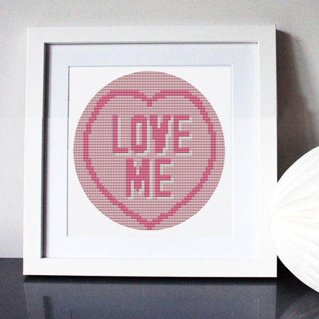 Love Me Love Heart Stashbuster Collectable Chart