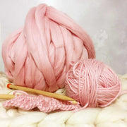 Maxi Merino Wool Yarn 1kg + Floss