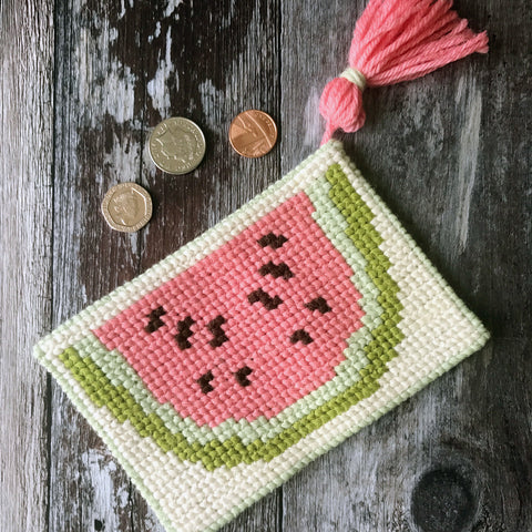 Mini Melon Tapestry Cross Stitch Kit