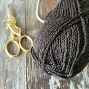 Metallica Metallic Cotton Aran Yarn - Gold
