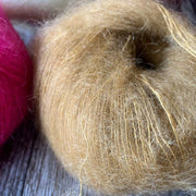 MILK Mohair Silk Yarn - Hot Pink