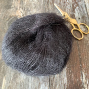 MILK Mohair Silk Yarn - Black